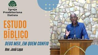 Estudo Bíblico (26/03/2020) - Igreja Presbiteriana Itatiaia