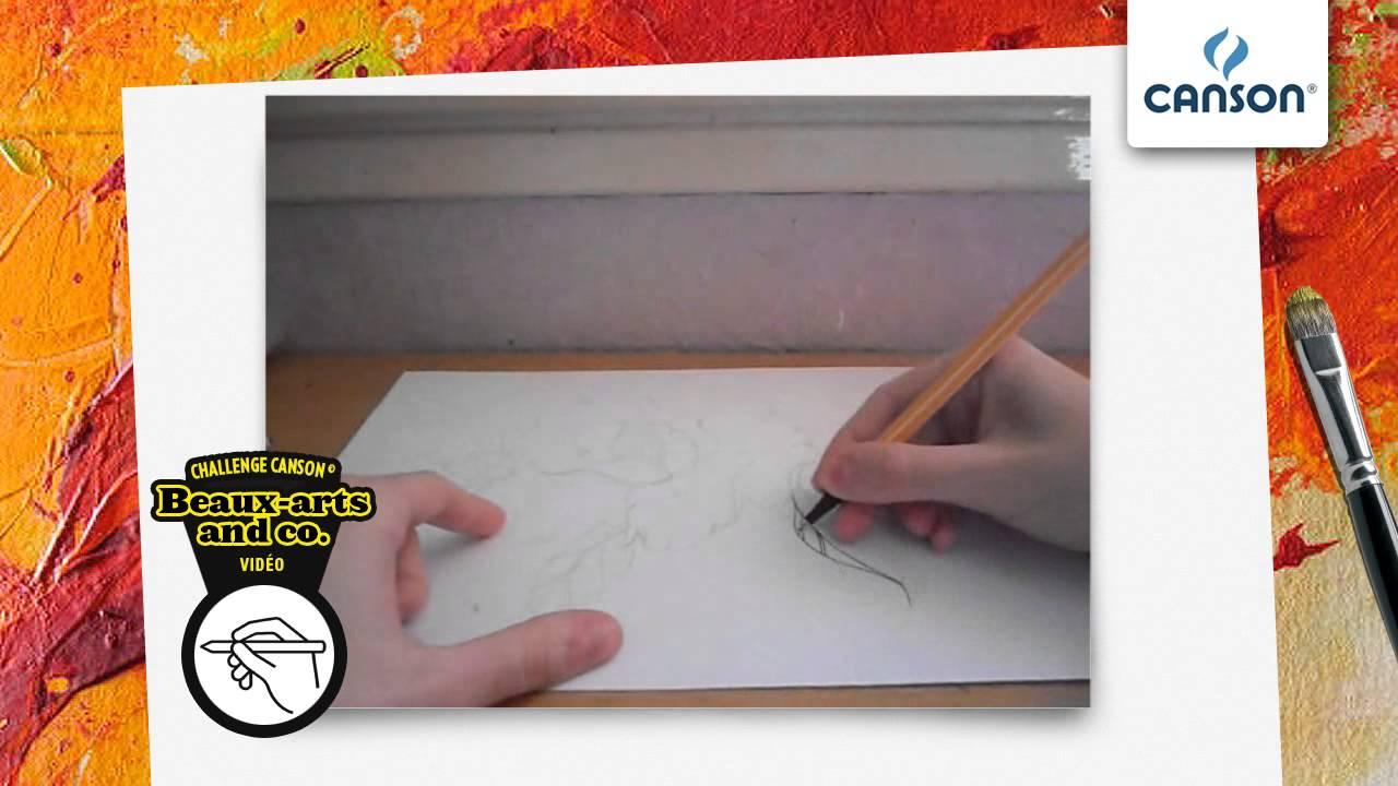Comment dessiner une rose la mani re d 39 un tatouage sur papier canson youtube - Comment couper une rose sur un rosier ...