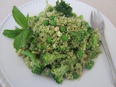 Mint Pesto Couscous
