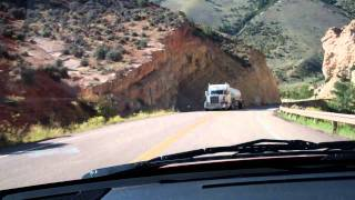 Highway 44 Near Flaming Gorge Manila Utah