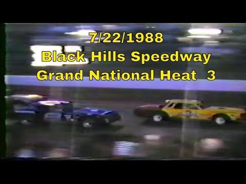 7/22/1988 Black Hills Speedway Grand National heat 3