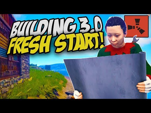 FRESH START WITH THE NEW BUILDING UPDATE!  Rust Solo Survival Gameplay
