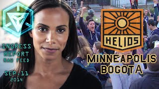 INGRESS REPORT - Raw Feed Sep 11 2014 -  #HELIOS - MINNEAPOLIS AND BOGOTA