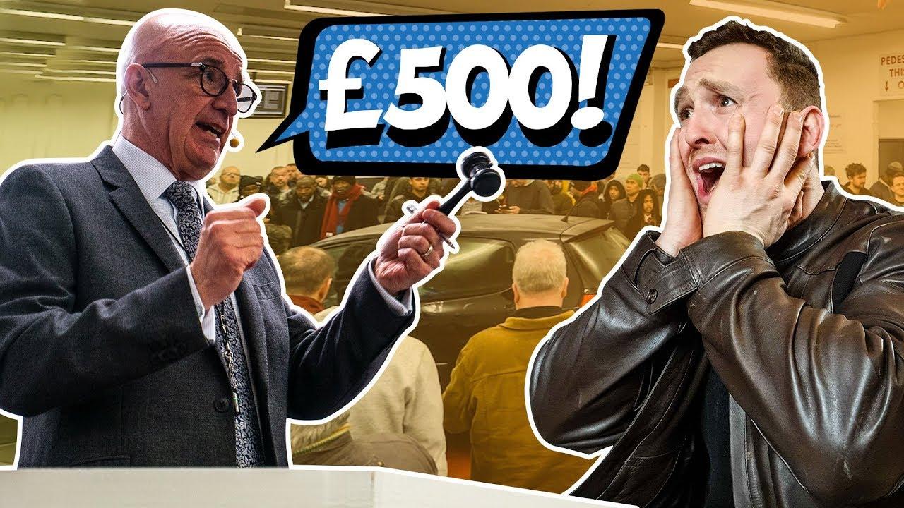£500 Cheap Car Auction Challenge