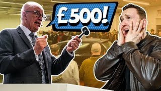 £500 Cheap Car Auction Challenge
