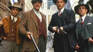 Theme from The Untouchables, composed by the great Ennio Morricone....