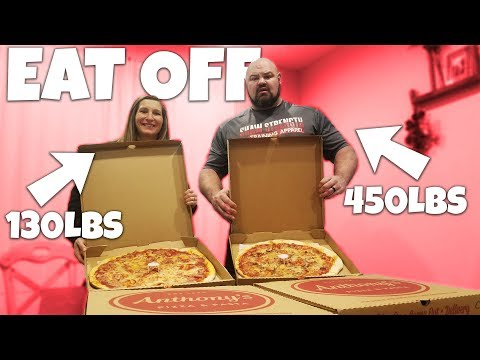 PIZZA EAT OFF | VERY WET FIRST DATE?!?!