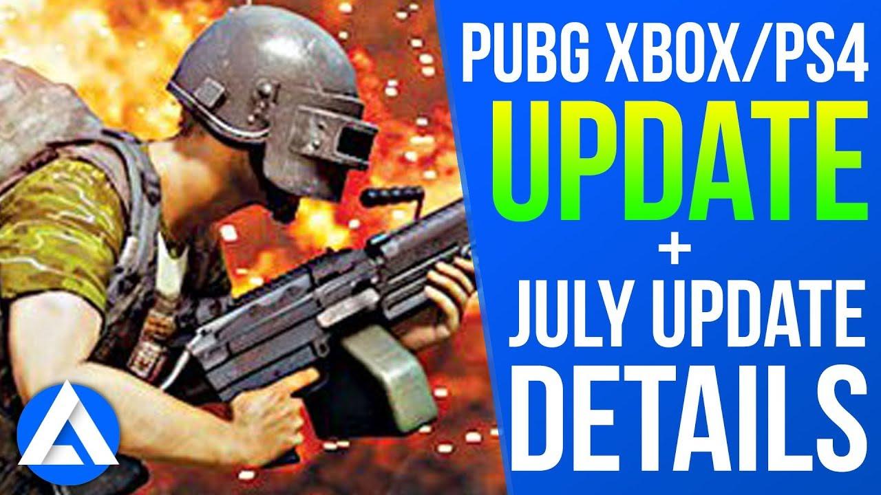 PUBG Xbox/PS4 Update: Crash Fixes + Next Update Info BRDM-2, Deagle, Ledge Grabbing & More