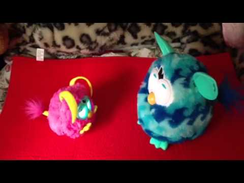 Frazzle meets Drizzle - 2012 Party Rocker and 2013 Furby ...