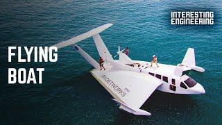 AirFish 8: The plane-boat hybrid