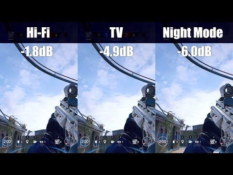 """Dynamic Range"" audio settings: tested and demonstrated - Rainbow Six Siege"