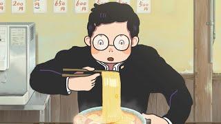 ひたすらラーメンを食べるアニメ