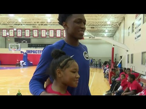 Pistons hold charity event