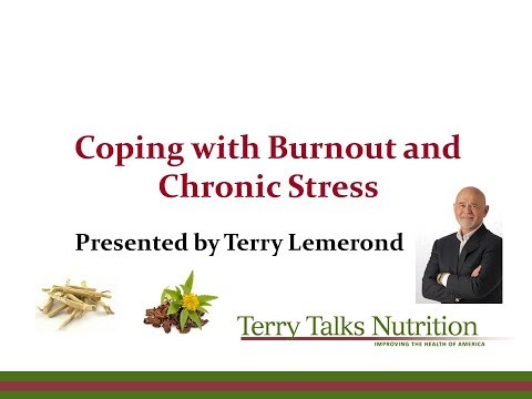 Natural Treatment for Burnout - Ashwagandha and Rhodiola