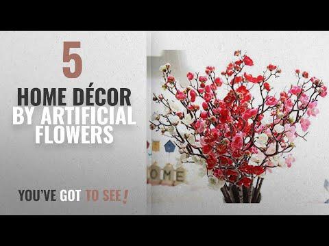 top-10-home-décor-by-artificial-flowers-[-winter-2018-]:-artificial-spring-blossom-cherry-plum