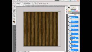 Photoshop Cs5 Tutorial: Wood Texture