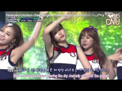 [Live HD] 150730 M!Countdown - A Pink - Remember [No.1 Nominees]