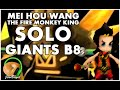 SUMMONERS WAR : Fire Monkey King SOLO Giants B8 - Mei Hou Wang