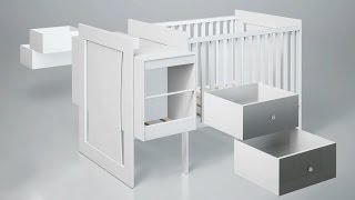 6 In 1 Changeover Cot To Full Size Single Bed Demo