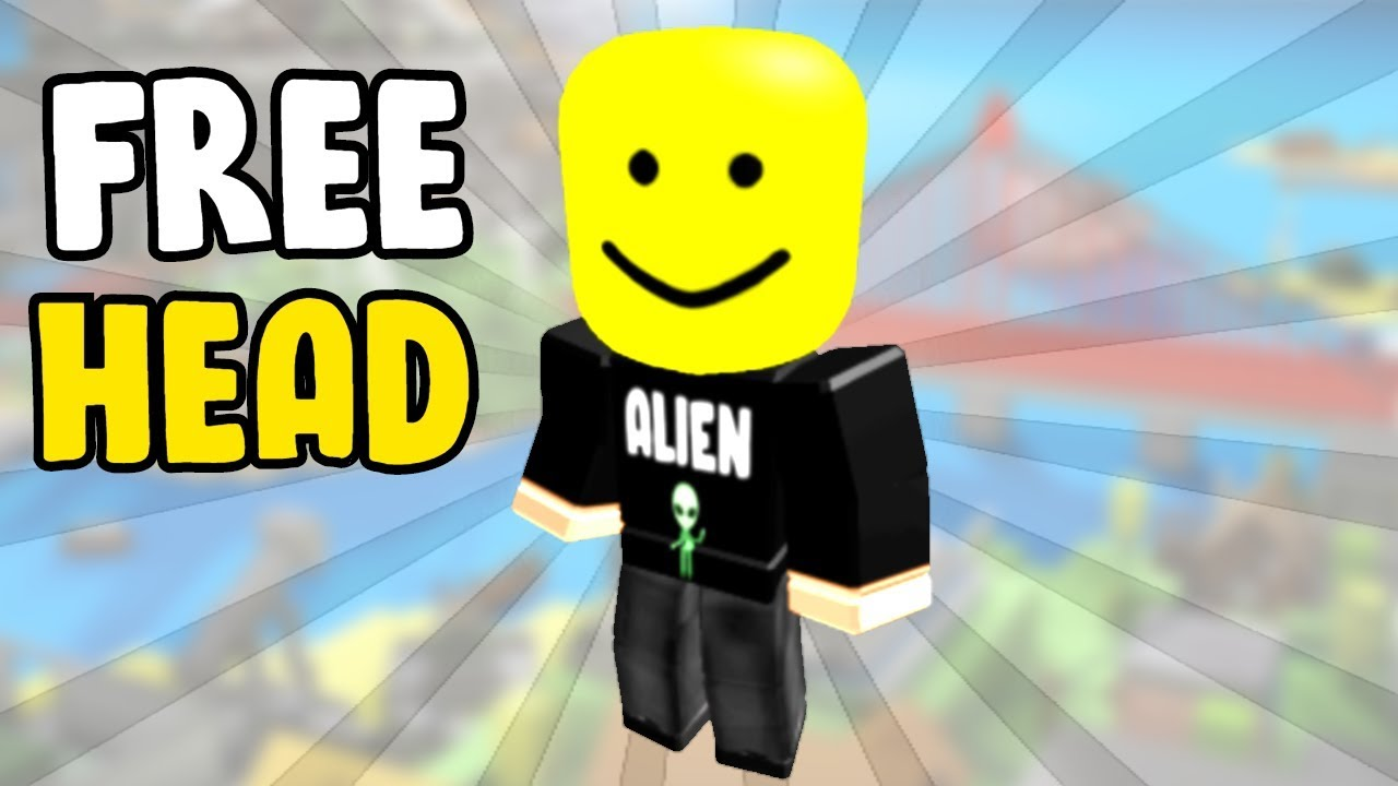 How To Get Big Yellow Heads In Roblox How To Get A Big Head In Roblox For Free Youtube