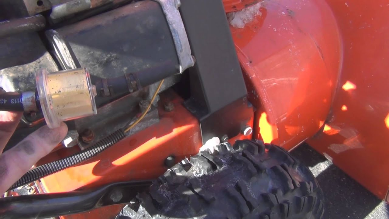 hight resolution of ariens 824 snow blower fuel line repair