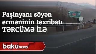 Gorus-Qafan yolunda erməni təxribatı
