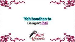 Ye Bandhan To Pyar Ka   Male Karoke With Female Voice By Sanya Shree❤
