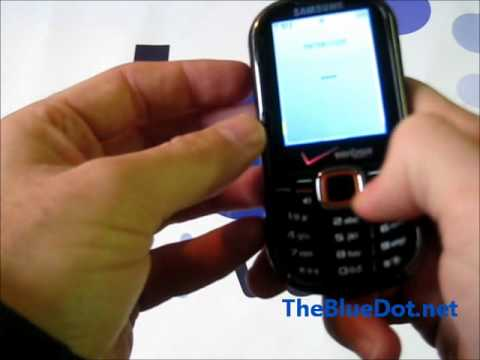 Samsung Intensity 2 Feature Phone Factory Reset