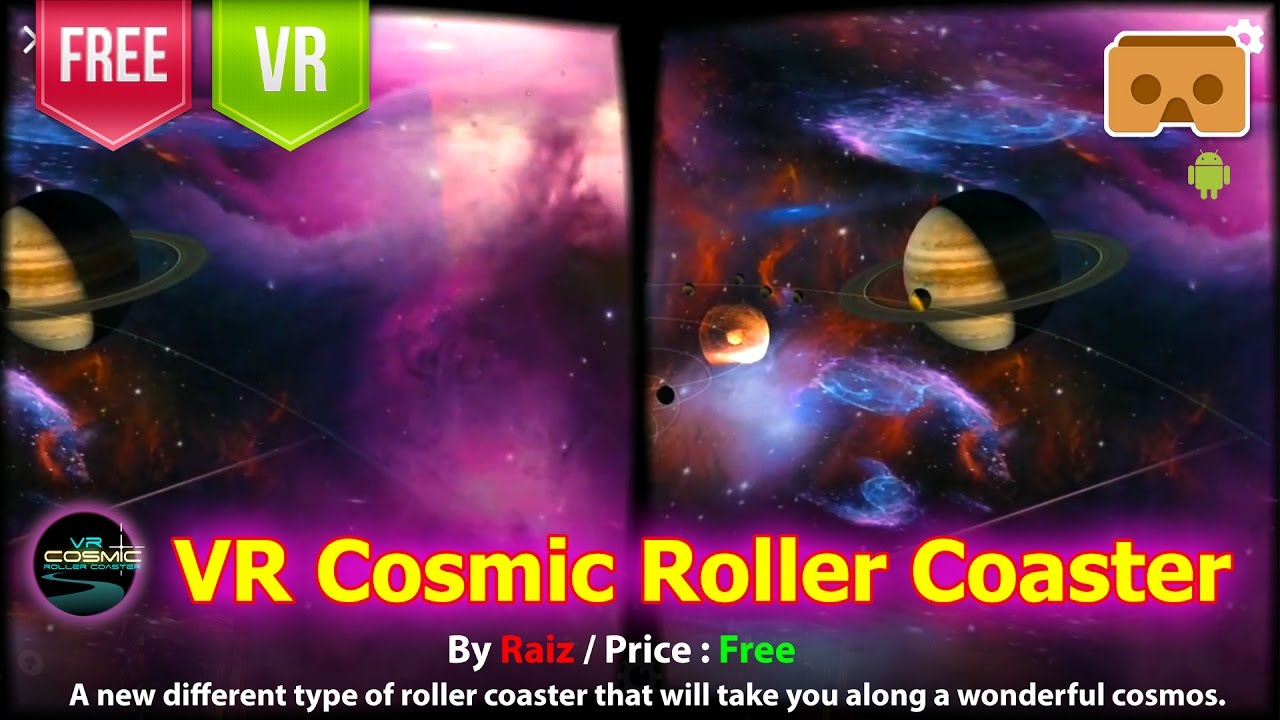 cosmic roller coaster vr apk