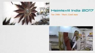 New Delhi,Heimtextil India 2017,Tue 20th   Thurs 22nd June