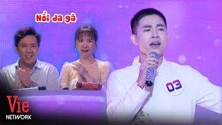 Trấn Thành Hari Won nổi da gà với chàng trai có biệt tài hát giọng nữ cao vút | Giọng Ca Bí Ẩn