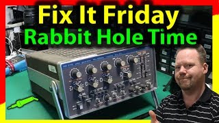 🔴 #564 Philips PM5716 Pulse Generator Repair Part 1 - Down The Rabbit Hole We Go