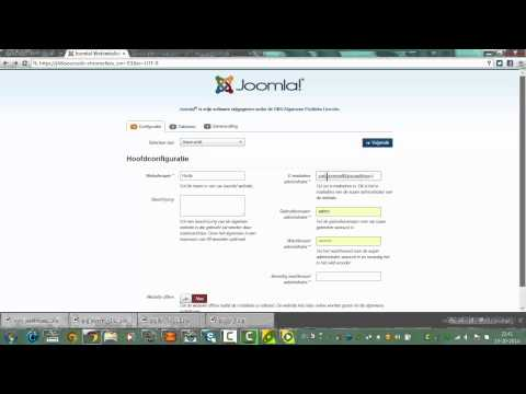 How to Install the Joomla Purity Template with the Quick Launch Installer