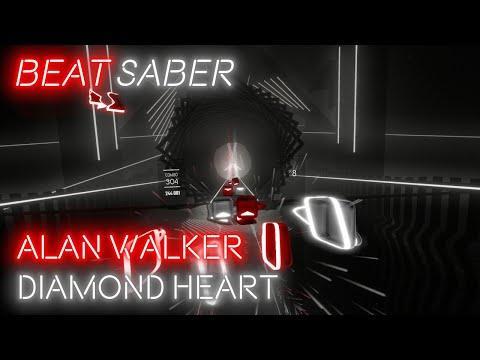 [Beat Saber] Alan Walker - Diamond Heart (Expert)