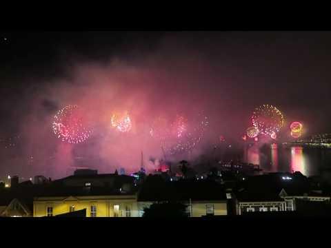 Año Nuevo en Valparaiso. 2017