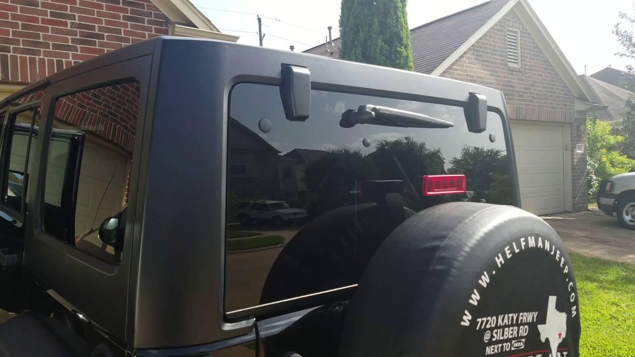 Rear windshield wiper not working  YouTube