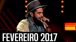 40 - Músicas Sertanejas Mais Tocadas nas Rádios - FEVEREIRO 2017