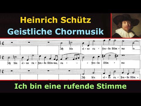 Heinrich Schütz - Ich bin eine rufende Stimme (Herreweghe)