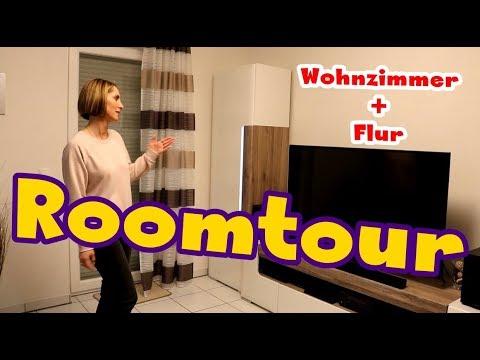 Roomtour Wohnzimmer und Flur