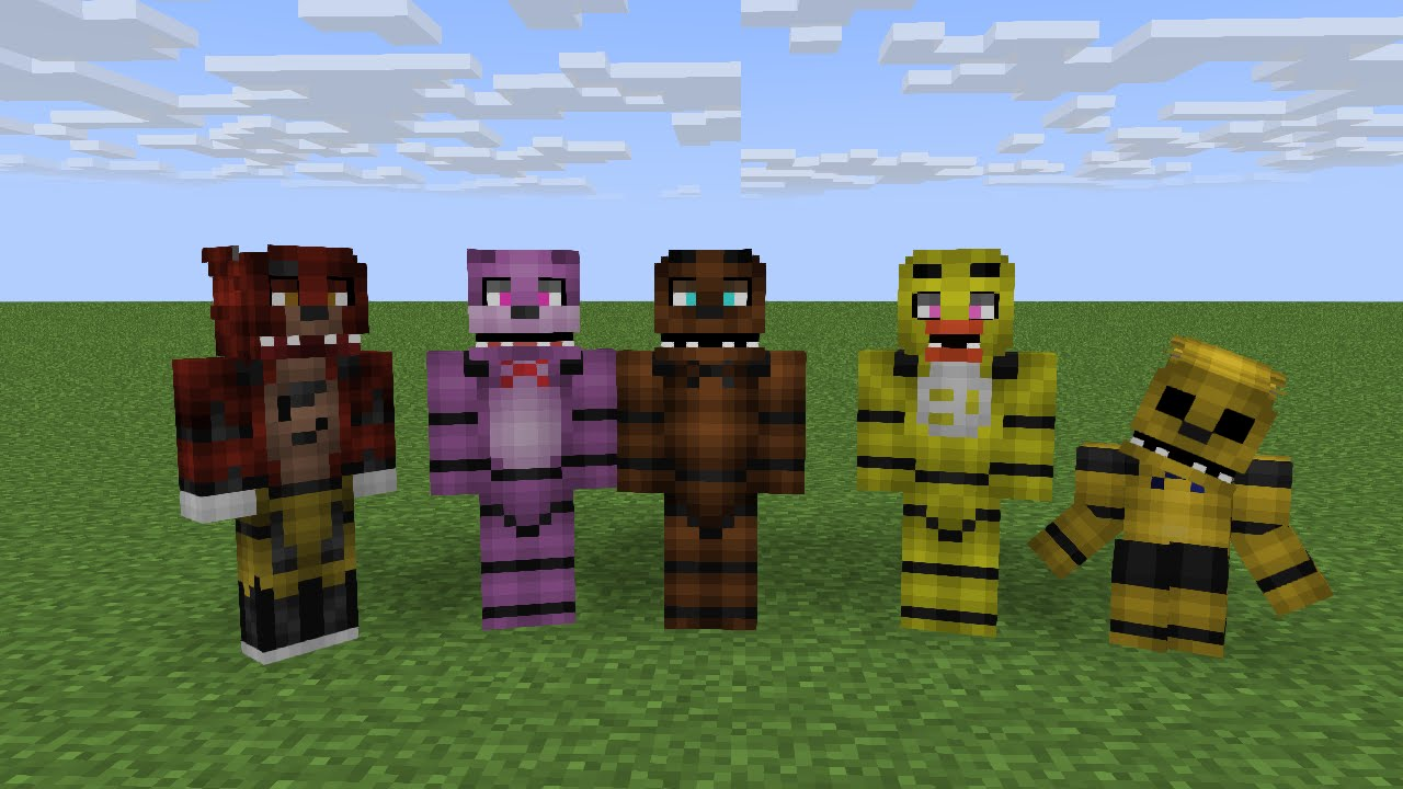 how to build fnaf 3 in minecraft