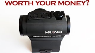 watch this before you buy a budget optic holosun hs503gu review