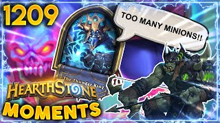 HOW TO Completely Lock Out Your Opponent!! | Hearthstone Daily Moments Ep.1209