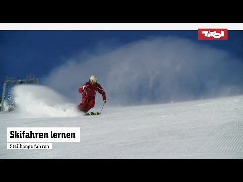 Skifahren lernen: Schwarze Piste meistern I Skikurs ⛷