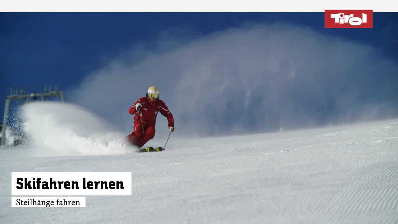 Skifahren lernen steilhänge fahren skikurs online youtube