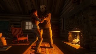 FRIDAY THE 13th: THE GAME - EL CEMENTERIO Y LA CASA DE JASON!!!
