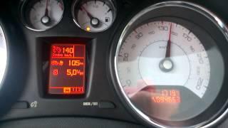 расход топлива пежо 308 1.6 HDI 140 км/ч(, 2014-10-05T20:41:03.000Z)