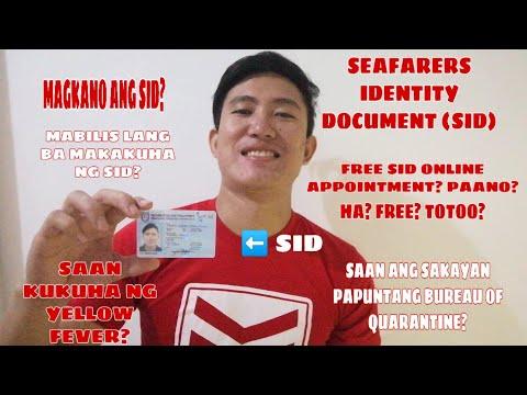 SID/SRB MARINA - SEAFARERS IDENTITY DOCUMENT JOURNEY