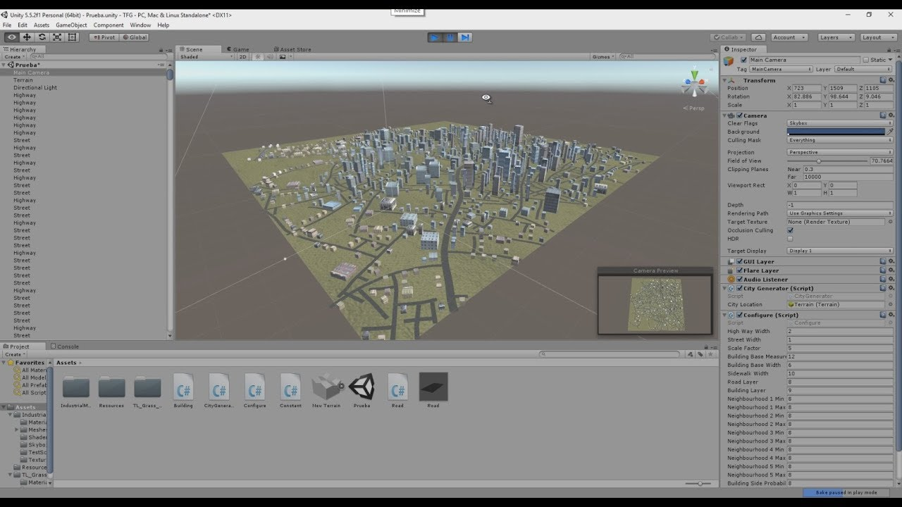 Procedural City Generation