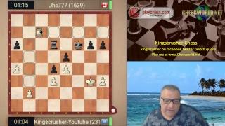 Playchess.com Banter Blitz with Kingscrusher