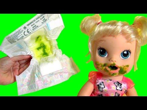 1e16e4b5eb Boneca Baby Alive Hora de Comer - YouTube